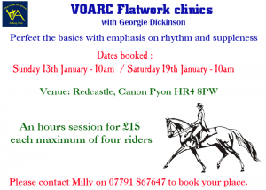Flatwork Clinic @ Redcastle